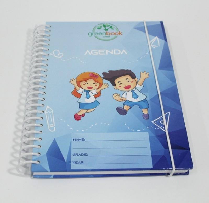 Agenda com Capa Personalizada Morumbi - Agenda Comercial Personalizada