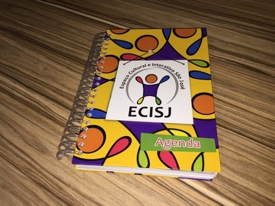 Agenda Escolar Infantil São Domingos - Agenda Escolar Espiral