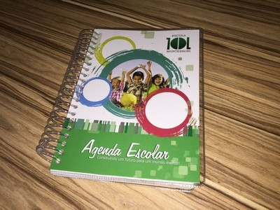 Agenda Personalizada para Escola Vila Carrão - Agenda Escolar Espiral