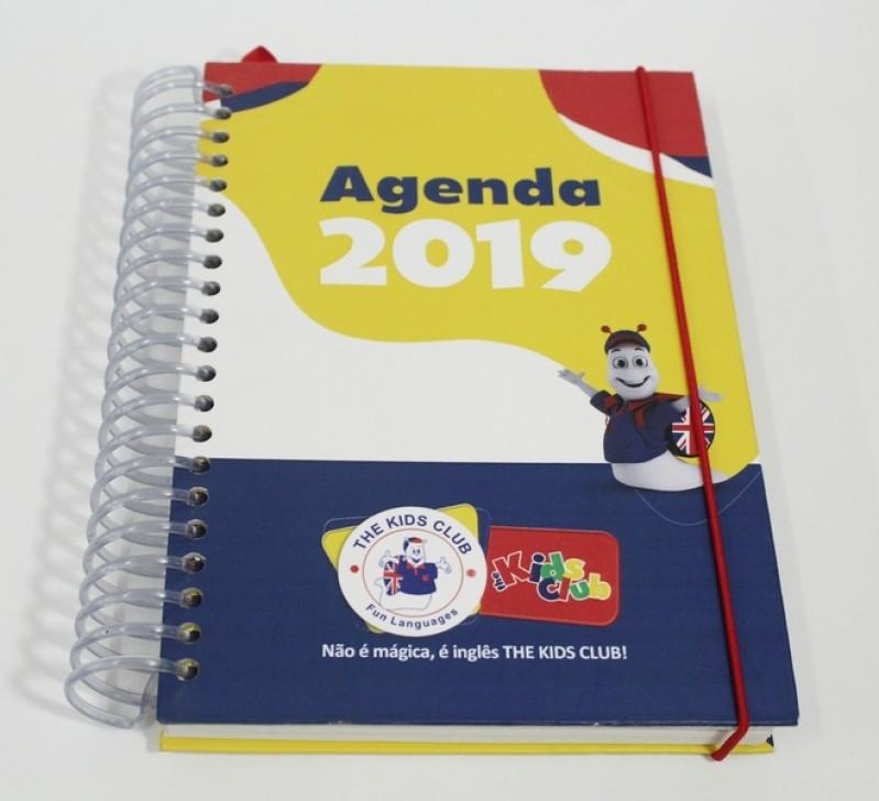 Agenda Personalizada Chácara Flora - Agenda Comercial Personalizada