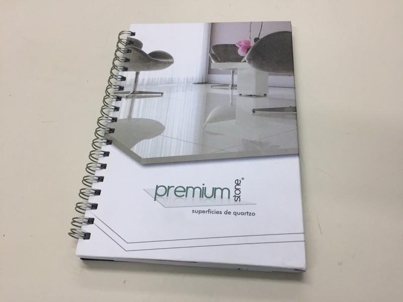 Caderno Personalizado Feminino São Miguel Paulista - Caderno Personalizado para Brinde