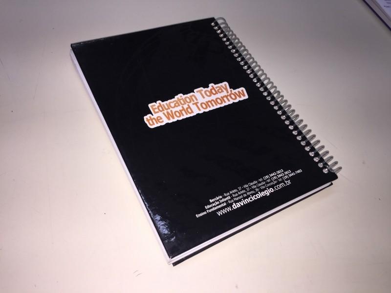 Comprar Caderno Personalizado para Professor Artur Alvim - Caderno Personalizado Atacado