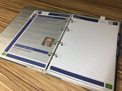 Comprar Fichário para Agenda Interlagos - Fichários com 4 Argolas