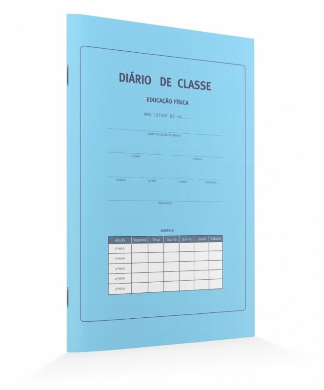Diários de Classe Bimestral Glicério - Diário de Classe Anual