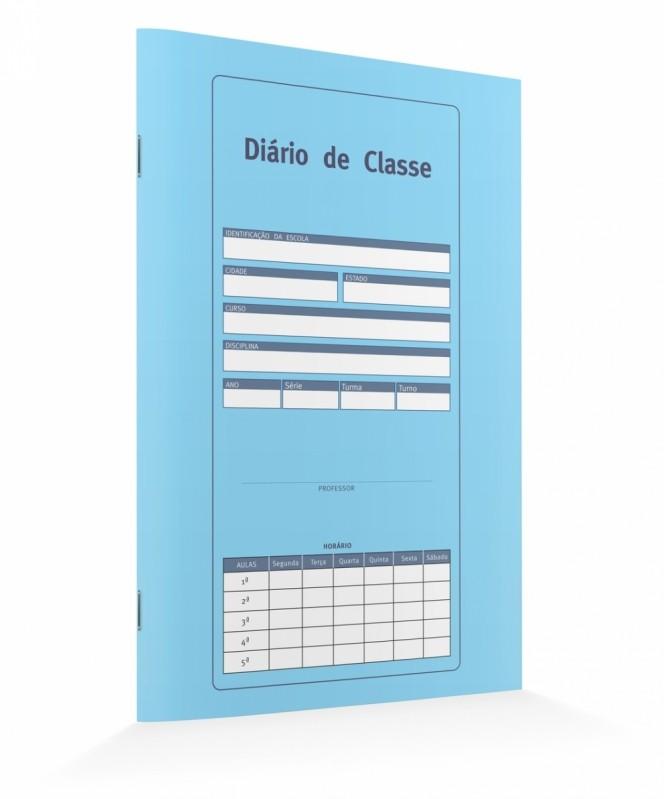 Onde Comprar Diário de Classe Maternal Artur Alvim - Diário de Classe Azul