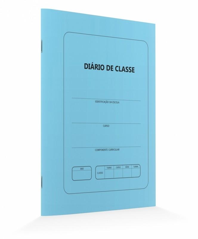 Onde Comprar Diário de Classe Vila Sônia - Diário de Classe Azul