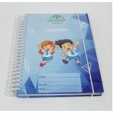 agenda com capa personalizada Parque São Lucas