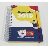 agenda personalizada para empresa Jaraguá