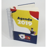 agenda personalizada para empresa