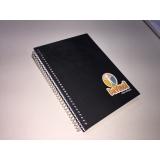 caderno personalizado dia do professor Campo Belo