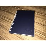 caderno personalizado empresarial José Bonifácio