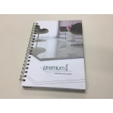 caderno personalizado feminino