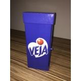 caixas personalizadas logomarca Vila Curuçá