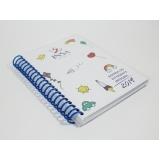 comprar agenda personalizada empresa Sacomã