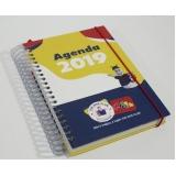 comprar agenda personalizada para empresa Campo Belo