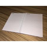 comprar caderno personalizado a4 Água Rasa