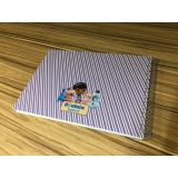comprar caderno personalizado infantil Vila Clementino