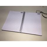 comprar caderno personalizado para brinde Vila Mariana