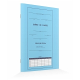 diário de classe azul preço Vila Matilde