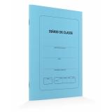 diário de classe azul Itaquera