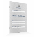 diário de classe berçário preço Jaraguá
