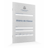 diário de classe maternal preço Vila Esperança