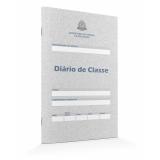 diários de classe escolar Vila Carrão