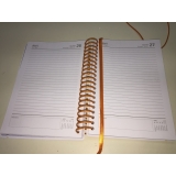 onde comprar agenda escolar espiral Vila Clementino