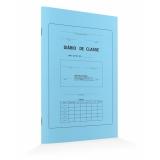 onde comprar diário de classe azul Lapa