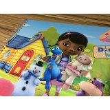 quanto custa caderno personalizado infantil Aclimação