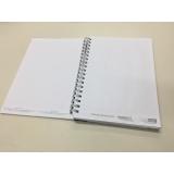 quanto custa caderno personalizado para empresa Sumaré