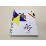 quanto custa caderno personalizado Vila Matilde
